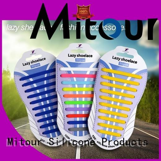 high-quality silicone shoelaces no tie for shoes
