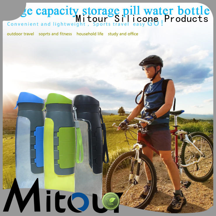 Mitour Silicone Products kettle bamboo water bottle supplier for children
