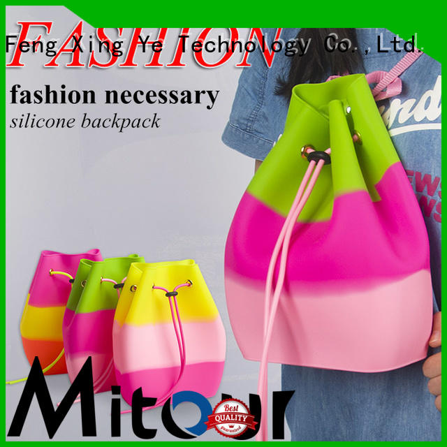 beach silicone handbag factory for school Mitour Silicone Products