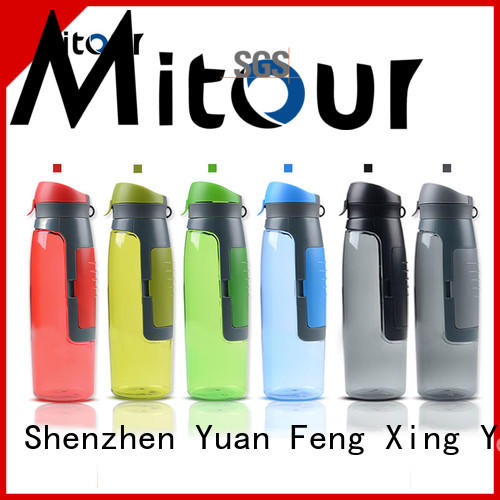 Mitour Silicone Products Wholesale 1l glass water bottle bulk production for children