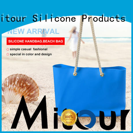 Mitour Silicone Products wholesale silicone shoulder bag OEM for trip