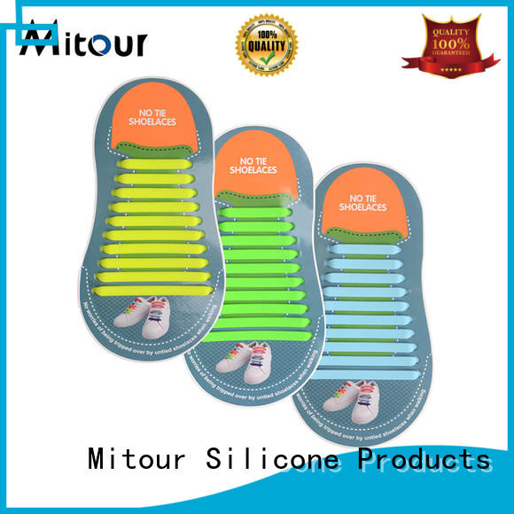 silicone shoelace inquire now for child Mitour Silicone Products