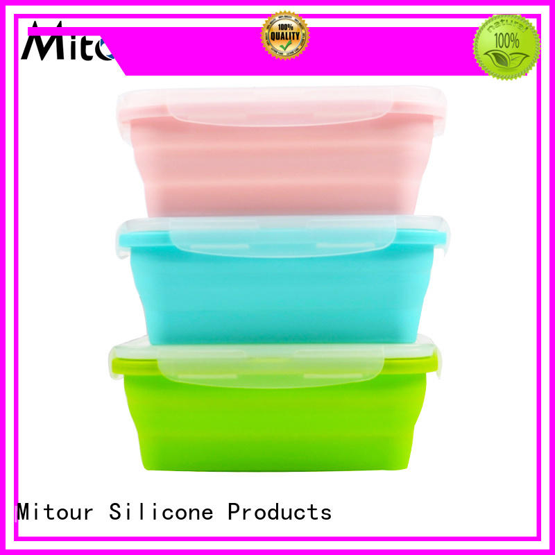 silicone placemat silicone placemat for toddlers foldable Mitour Silicone Products Brand company