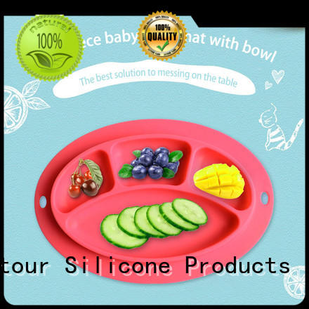 Mitour Silicone Products foldable placemat silicone for baby