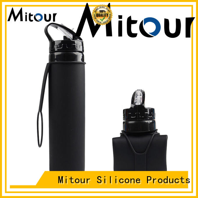 Mitour Silicone Products eco glass bottle bulk production for water storage