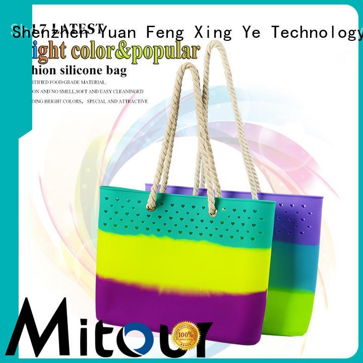 Mitour Silicone Products wholesale designer handbag bag for travel