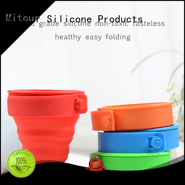 silicone collapsible bottle camouflage for water storage Mitour Silicone Products