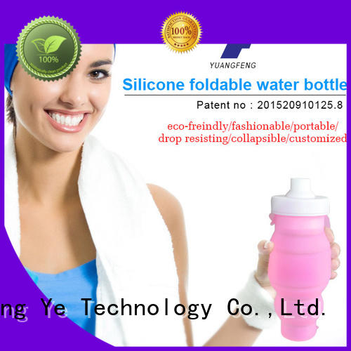 silicone folding bottle for water storage Mitour Silicone Products