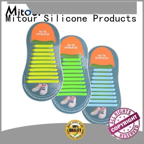 shoe silicone manufacturers laces lace Mitour Silicone Products company