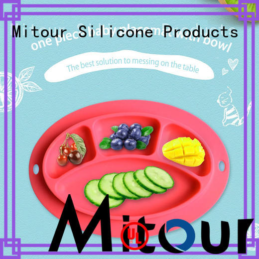 Mitour Silicone Products placemat silicone placemat lunch for children