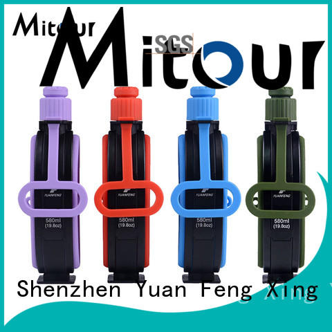 sports silicone bottle sleeve for wholesale for water storage Mitour Silicone Products