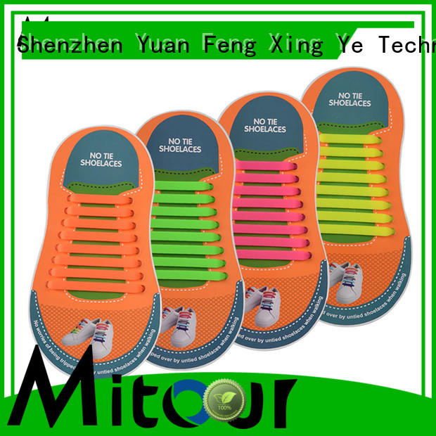 lazy shoelace silicone for child Mitour Silicone Products