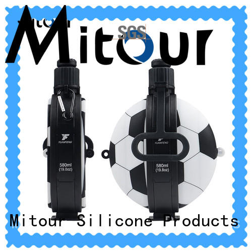 Mitour Silicone Products purse collapsible flask bulk production for children
