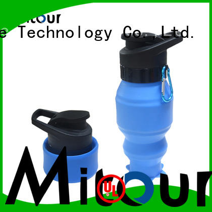 Mitour Silicone Products football water bottle trick for wholesale for children