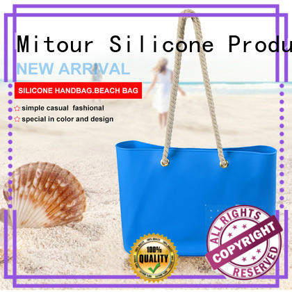 tote silicone woman handbag Mitour Silicone Products Brand