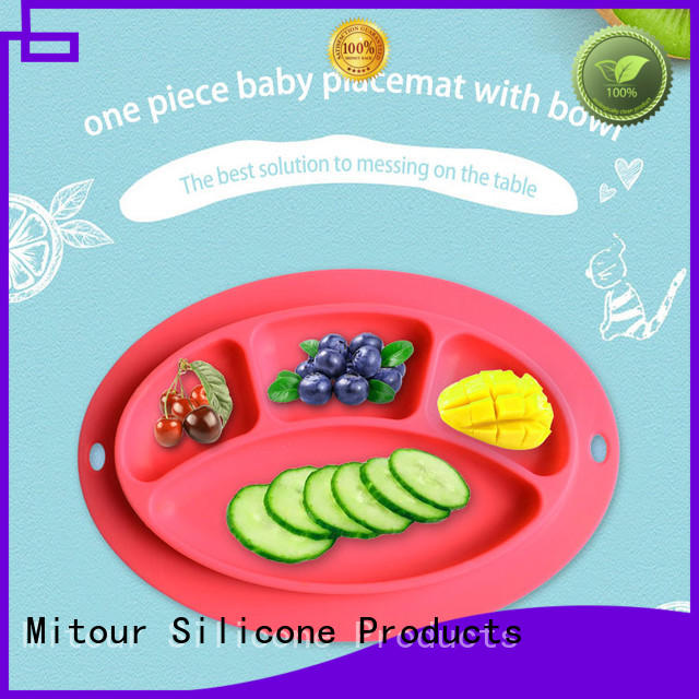 silicone silicone placemat plate for baby Mitour Silicone Products