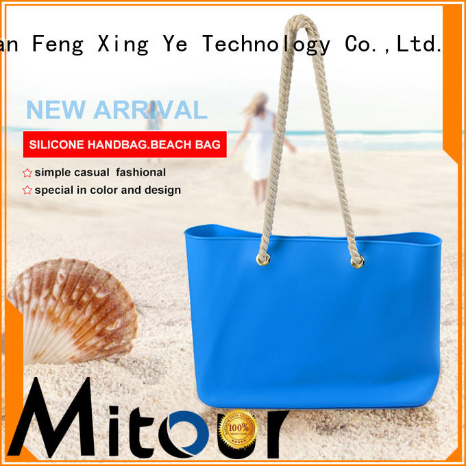 Mitour Silicone Products ODM silicone hand bag handbag for trip