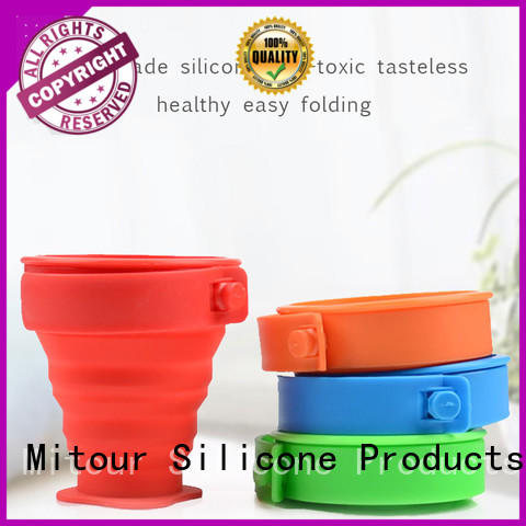 Mitour Silicone Products kettle silicone folding water bottle bulk production for water storage