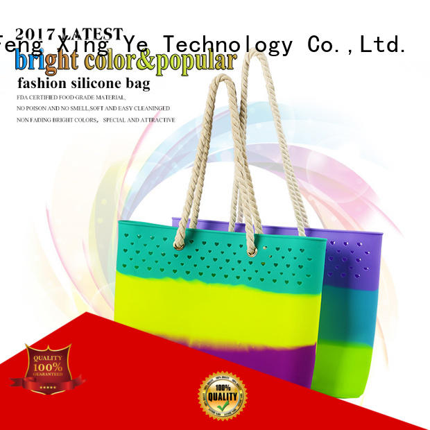 beach silicone tote bag custom for trip Mitour Silicone Products