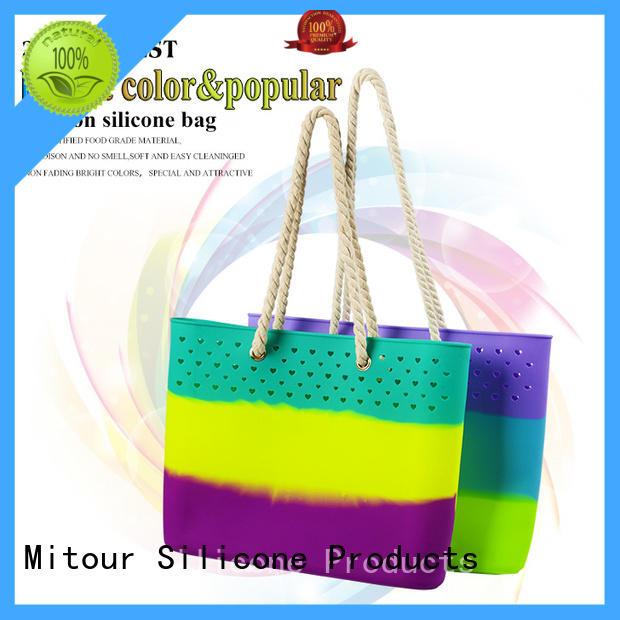 silicone pvc handbag manufacturer for school