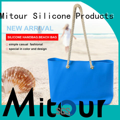 Mitour Silicone Products custom pvc handbag backpack for school