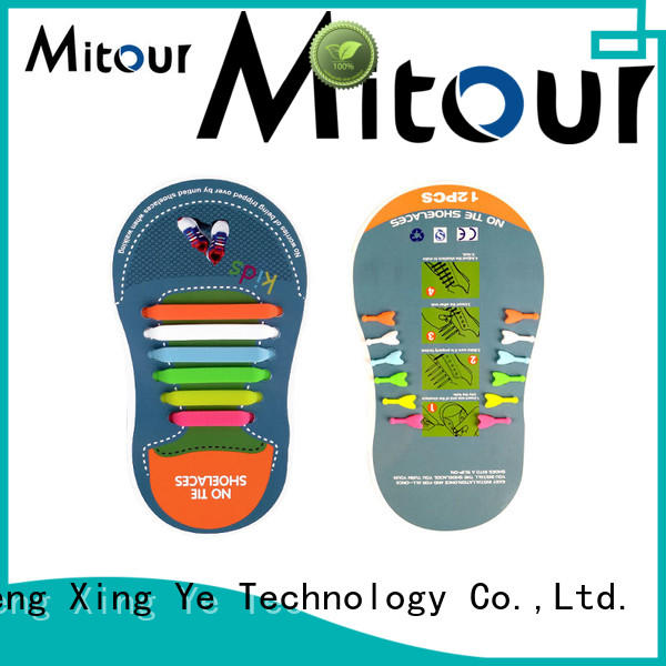 Mitour Silicone Products silicone shoelace silicone contact for for boots