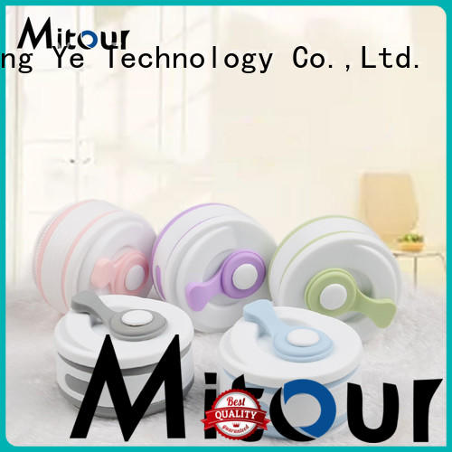 Mitour Silicone Products folding collapsible silicone bottle for water storage