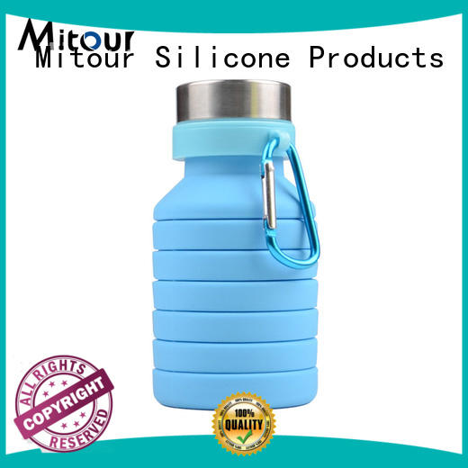 collapsible water bottle silicone camouflage for water storage Mitour Silicone Products