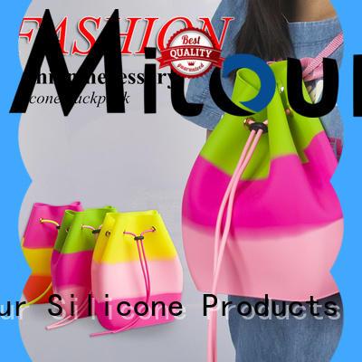 Mitour Silicone Products OEM designer handbag for trip