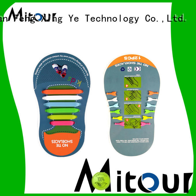 Mitour Silicone Products custom silicone laces for shoes