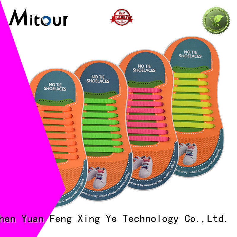 silicone shoelaces contact for for child Mitour Silicone Products