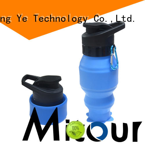 Mitour Silicone Products silicone foldable bottle bulk production for children