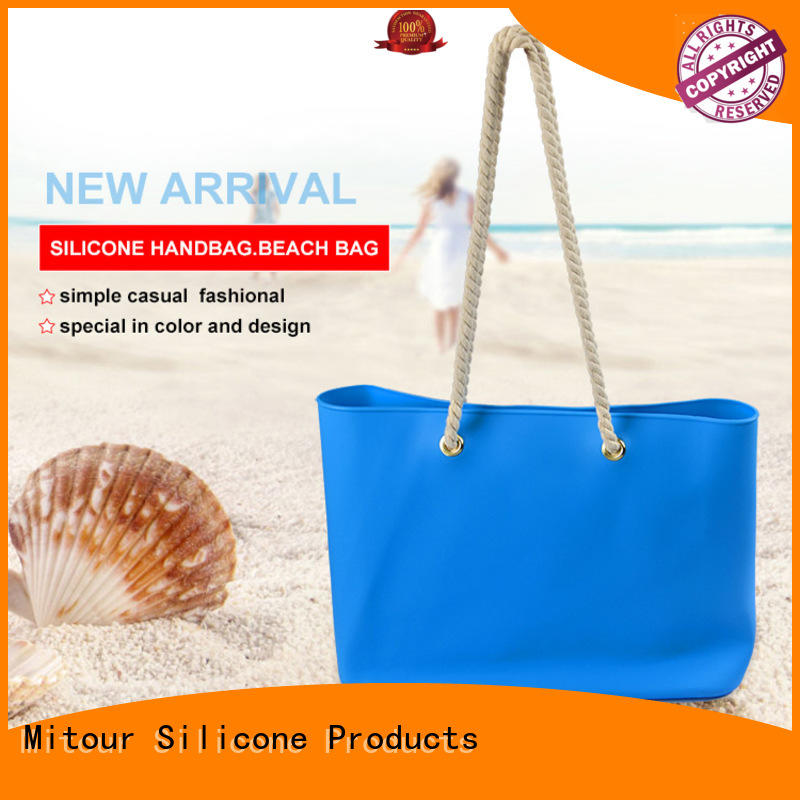 beach silicone toiletry bag custom for school Mitour Silicone Products