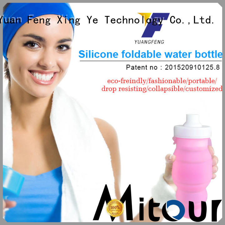 Mitour Silicone Products straight silicone squeeze bottle bulk production for water storage