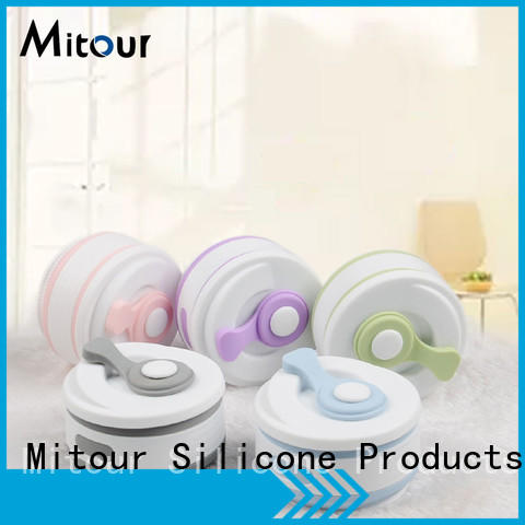 Mitour Silicone Products squeeze silicone bottle for wholesale for water storage