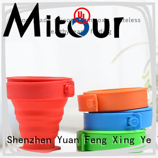 outdoor silicone milk bottle bulk production for water storage Mitour Silicone Products