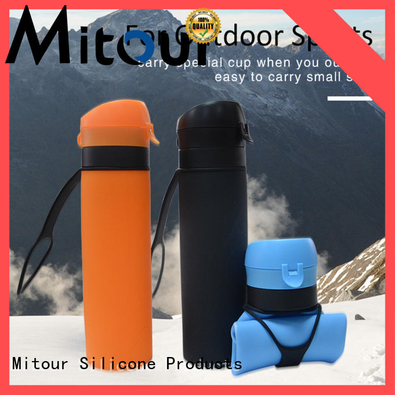 Mitour Silicone Products folding silicone collapsible bottle inquire now for children