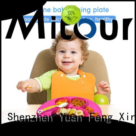 latest non slip placemats silicone for children