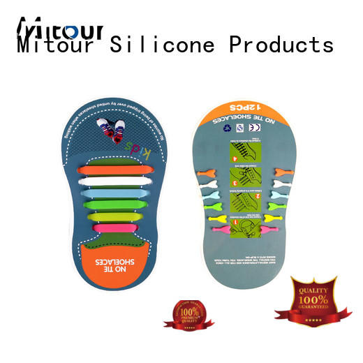 Mitour Silicone Products custom silicone ties for shoes