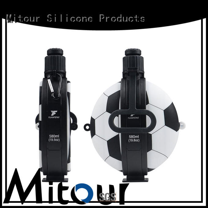 Mitour Silicone Products portable silicone bottle sleeve bulk production for water storage