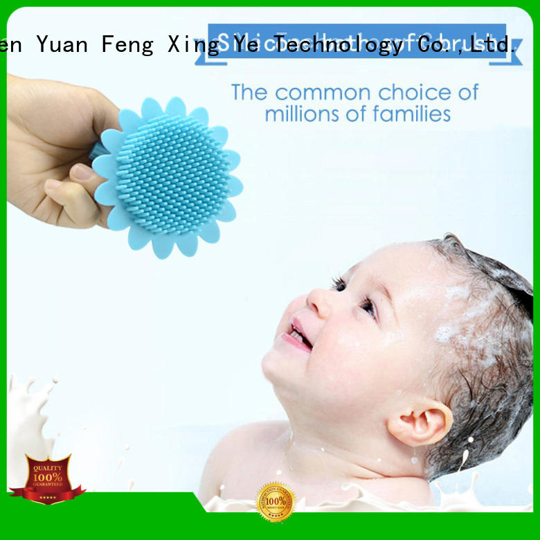 silicone body brush soft for baby Mitour Silicone Products