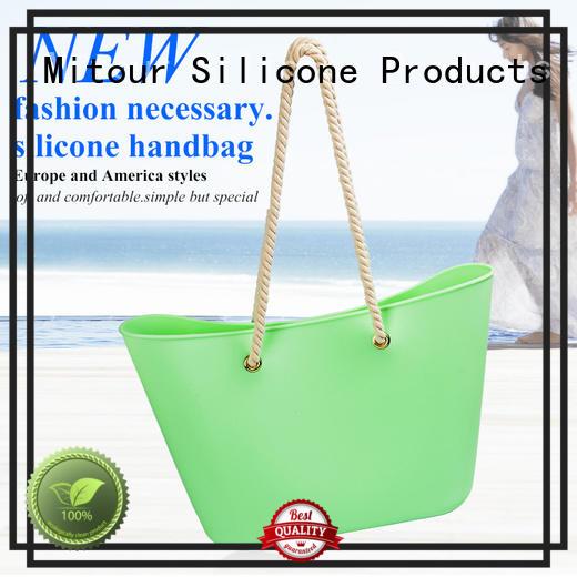 woman handbag silicone beach bag lady handbag manufacture