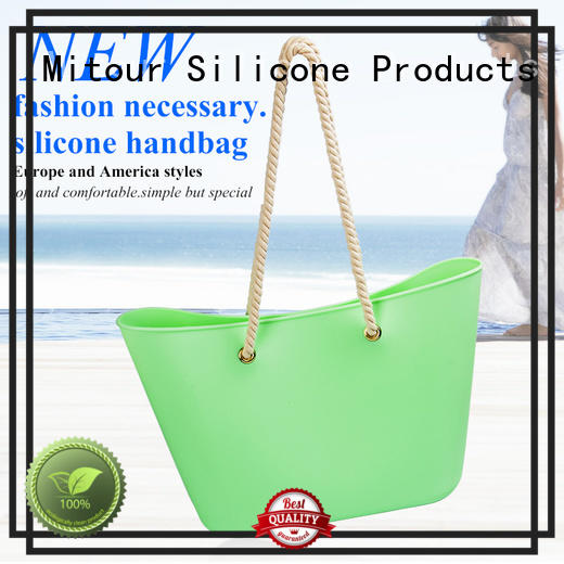 woman handbag silicone beach bag lady handbag manufacture