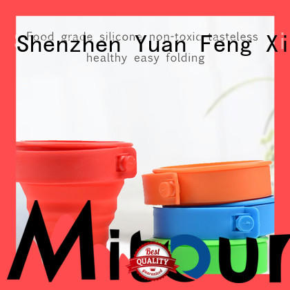 Mitour Silicone Products kettle collapsible flask bulk production for children