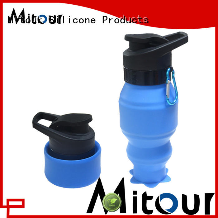 silicone milk bottle cup for water storage Mitour Silicone Products