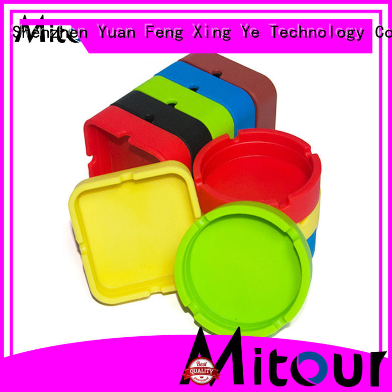 Mitour Silicone Products best quality smokeless ashtray silicone