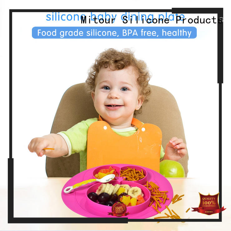 Mitour Silicone Products latest silicone placemat for babies box for baby