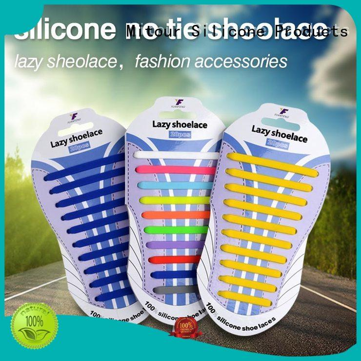 high-quality silicone shoelaces shoe laces for child Mitour Silicone Products