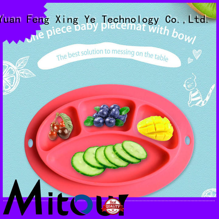 Mitour Silicone Products silicone felt placemats Suppliers for baby