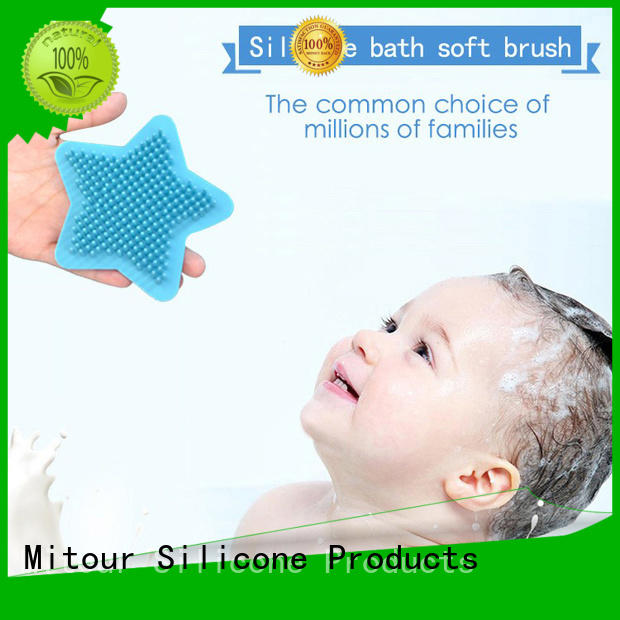 soft silicone makeup brush for baby Mitour Silicone Products